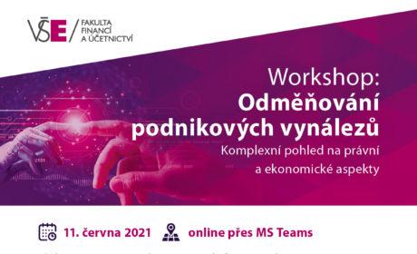 Workshop: Odměňování podnikových vynálezů 11. 6. 2021