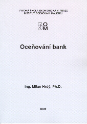Hrdý, M.: Oceňování bank