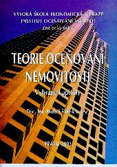 Štefan, R.: Teorie oceňování nemovitostí - vybrané kapitoly